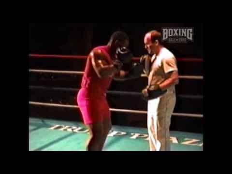 Απίστευτες τεχνικές πυγμαχίας σε στόχους του Kevin Rooney Mike Tyson
