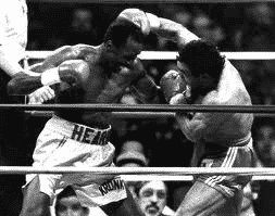 Thomas Hearns vs Juan Roldan