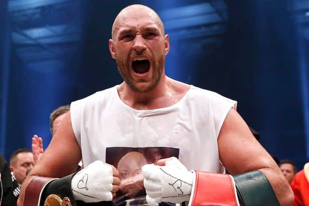 Tyson Fury Conor McGregor boxing pics