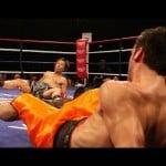 Σπάνια πυγμαχικά διπλά Knockdown