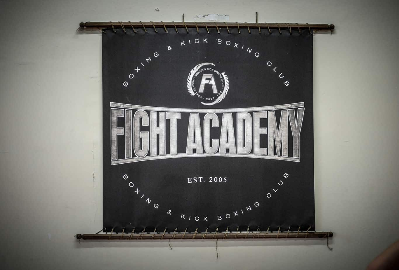 fight academy logo pic