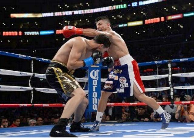 Πυγμαχία | Δεξί αντιχτύπημα (counterpunch) μετά από προσποίηση