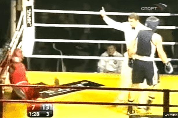 Το Knock Out που έχει δεχτεί ο Deontay Wilder ως ερασιτέχνης