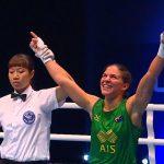 Νίκη στο Παγκόσμιο Πρωτάθλημα Πυγμαχίας η Κωνσταντοπούλου