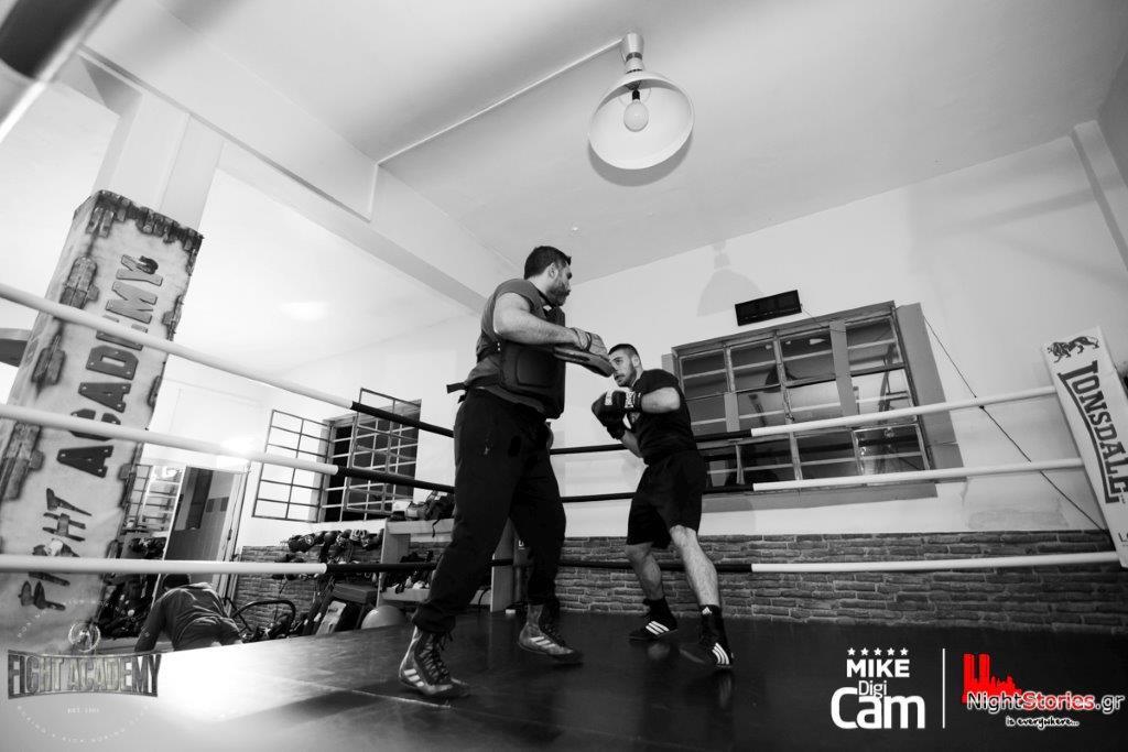 προπονητης πυγμαχιας fight academy βασιλης οικονομου
